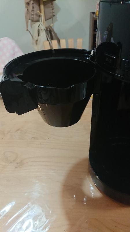 siroca-SC-C121 コーヒーメーカー バスケットが外しにくい
