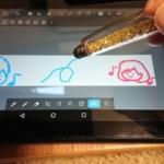 KindleFireにメディバンをインストール_タッチペンでお絵描き