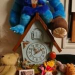 プーさんの掛け時計