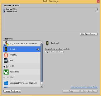 UnityでAndroidビルドが消える_1