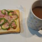 食パンとマーガリンに飽きた_コーヒーを一緒に