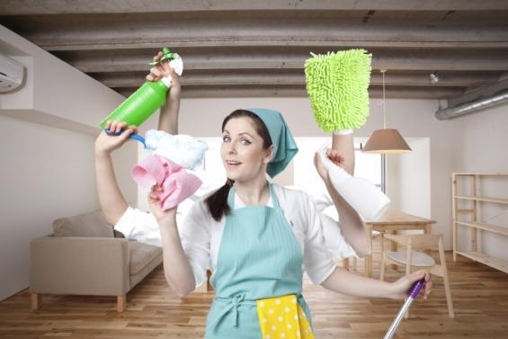 夫でもできる手伝える家事_リビング掃除