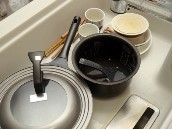 夫でもできる手伝える家事_食器洗い