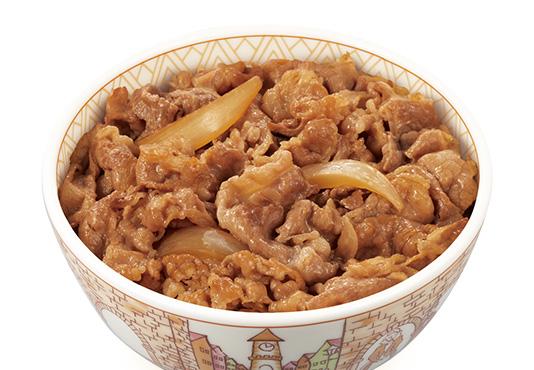 すき家のオススメ筋トレ飯_牛丼